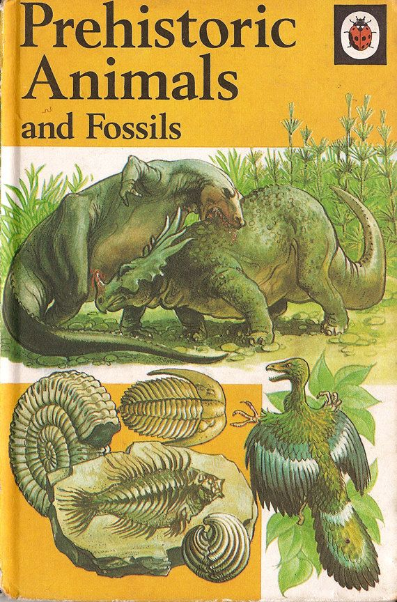 Image result for ladybird book dinosaurs 1976