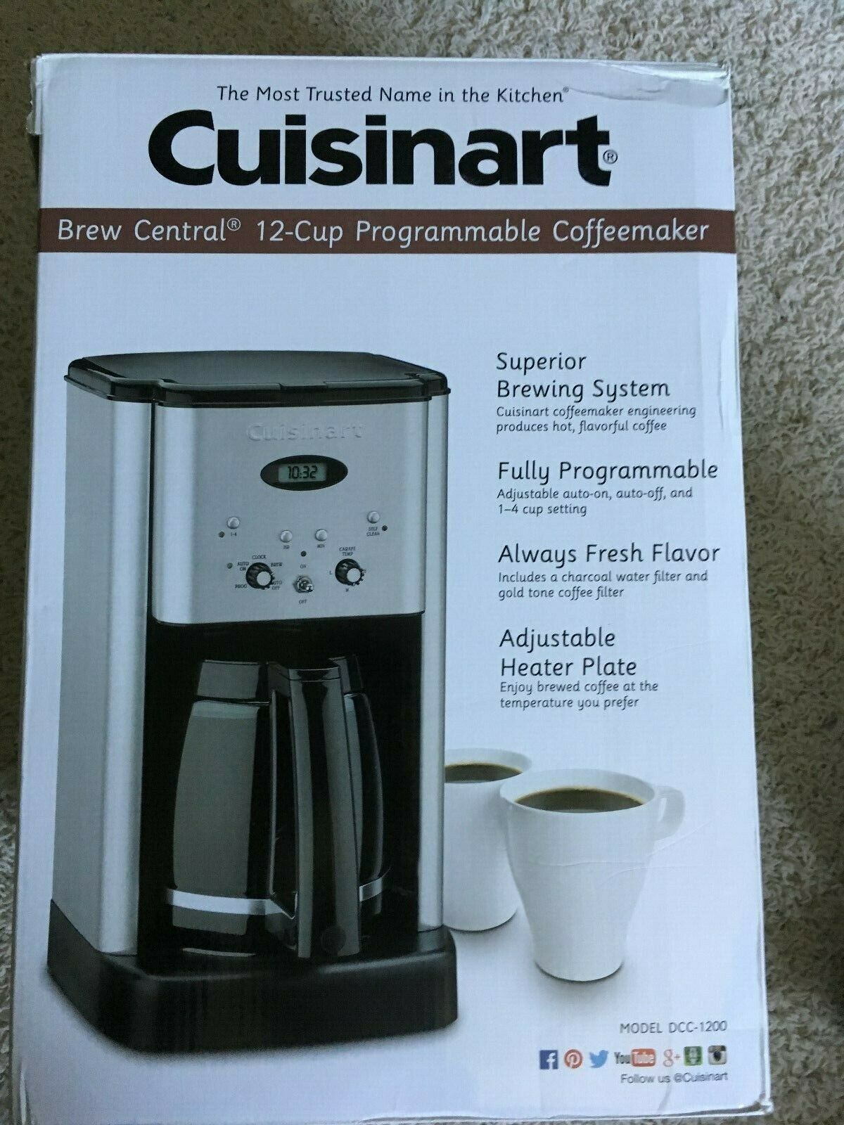 Https Ift Tt 2mb1rvi Coffee Makers Ideas Of Coffee Makers Coffeemakers Coffee Cuisinart 12 Cup Progr Coffee Maker Cuisinart Coffee Maker Buy Coffee