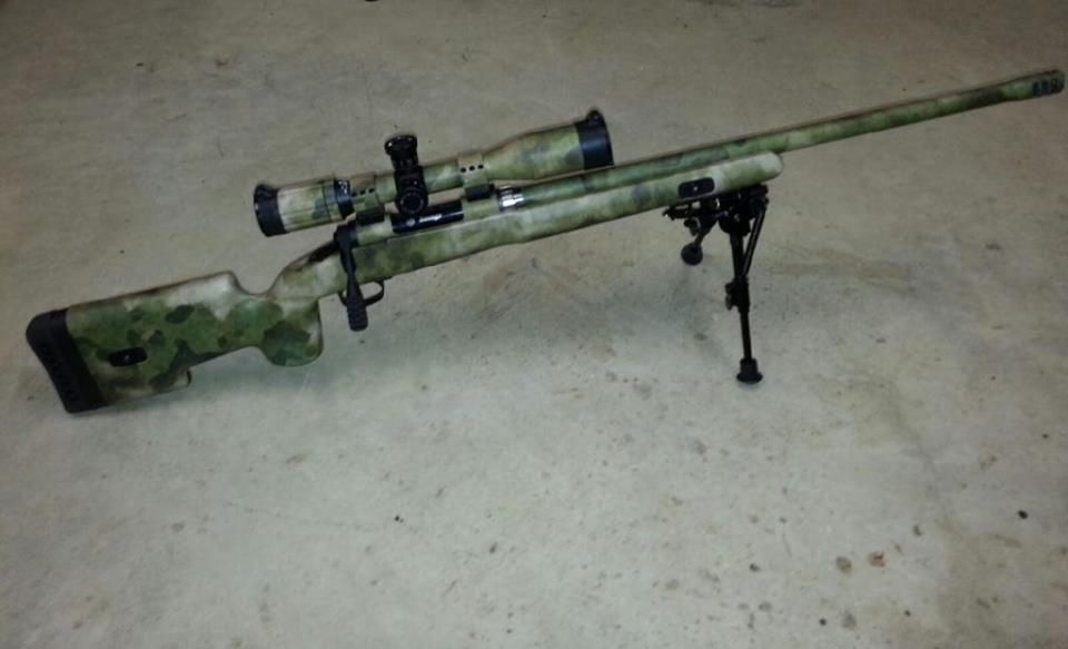 Savage Model 11 Chambered in 308 with upgraded Choate Stock