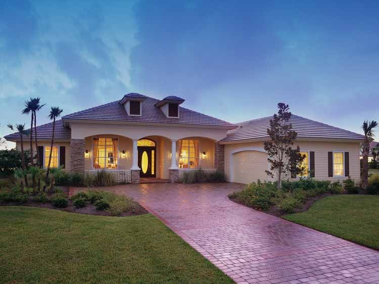 Mediterranean Modern House Plan With 2885 Square Feet And 3 Bedrooms From Dream  Home Source