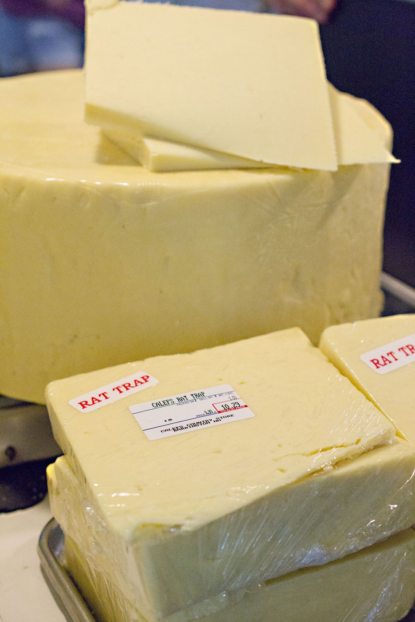 Rat trip cheese from Calef's Country Store