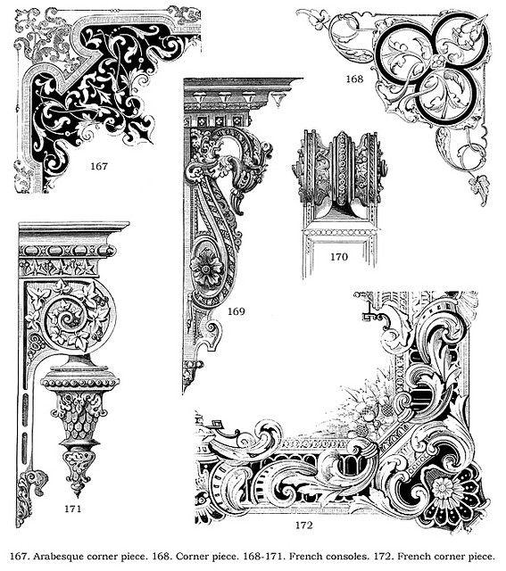 Victorian Ornamental Design : Baroque Ornament In