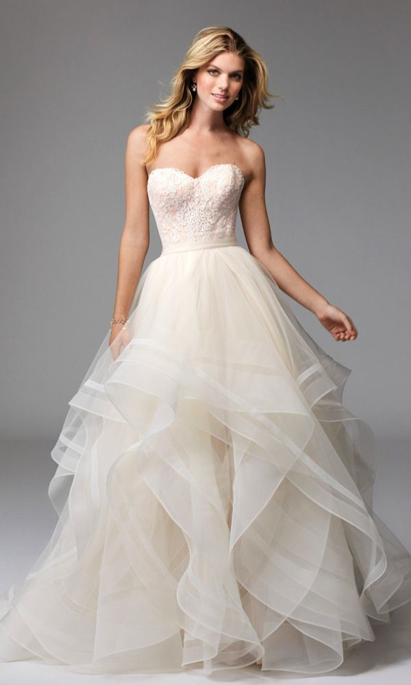 Love! Effie (style 17622), Wtoo by Watters. Wedding dresses under ...
