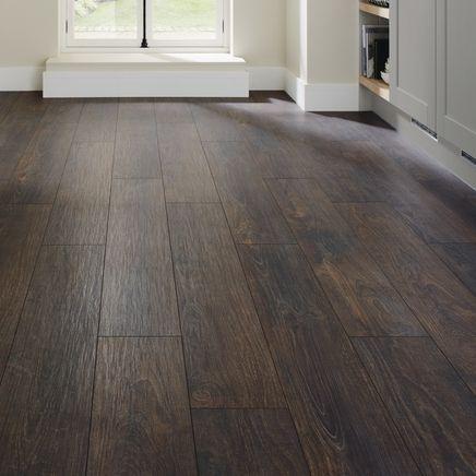 Professional V Groove Dark Oak Laminate Flooring Howdens Laminate