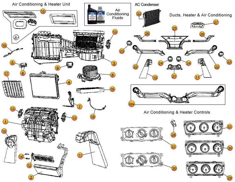 Interactive Diagram Jeep Wrangler Jk A C Heating Parts Morris 4x4 Center Jeep Wrangler Jeep Jk Parts Jeep Wrangler Jk