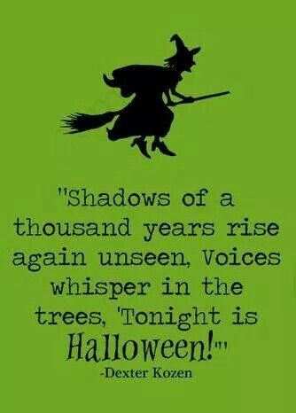 Charming Halloween Quote