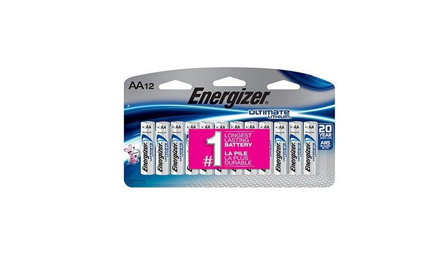 12 Count Energizer Ultimate Lithium Aa Batteries For 10 34 At Amazon W Subscribe Save Energizer Aa Batteries Batteries