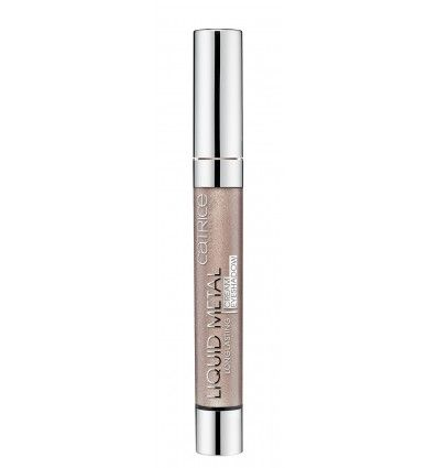 Catrice Liquid Metal Longlasting Cream Eyeshadow 040 Brown Under 6ml