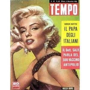 tempo magazine covers -MARILYN MONROE