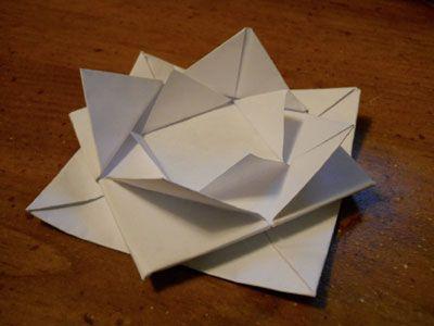 Photo of Origami Lotus Blossom Folding Instructions – How to fold an Origami Lotus Blossom