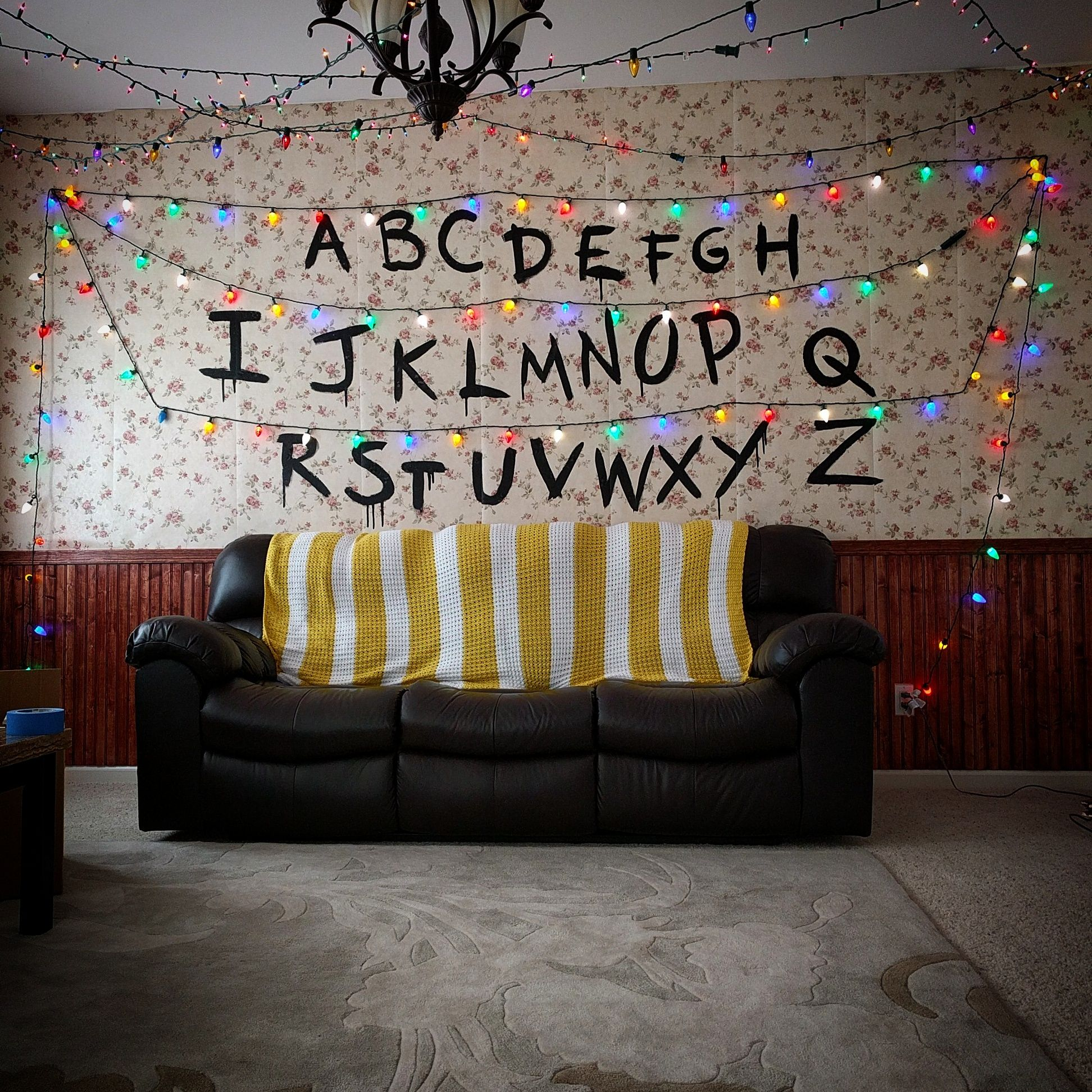 Stranger Things Living Room Decor