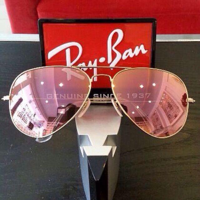 ขาย Ray-Ban RB3025 019/Z2 (Pink) Aviator Sunglasses ในราคา ฿