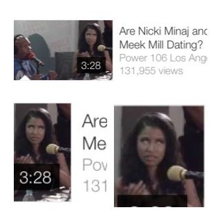 Is it just me or does Nicki look possessed in the thumbnail?