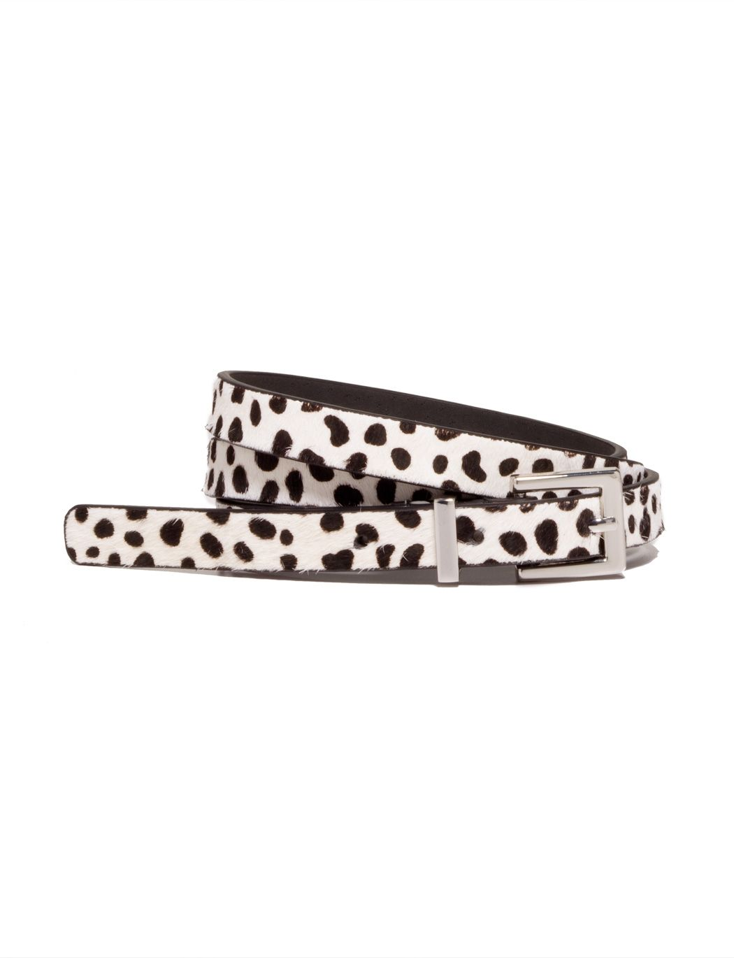 Spotted Haircalf Belt   Women's Accessories   THE LIMITED