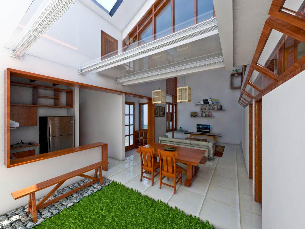 Desain Ruang Tamu Di Teras Depan  Minimalist living room design
