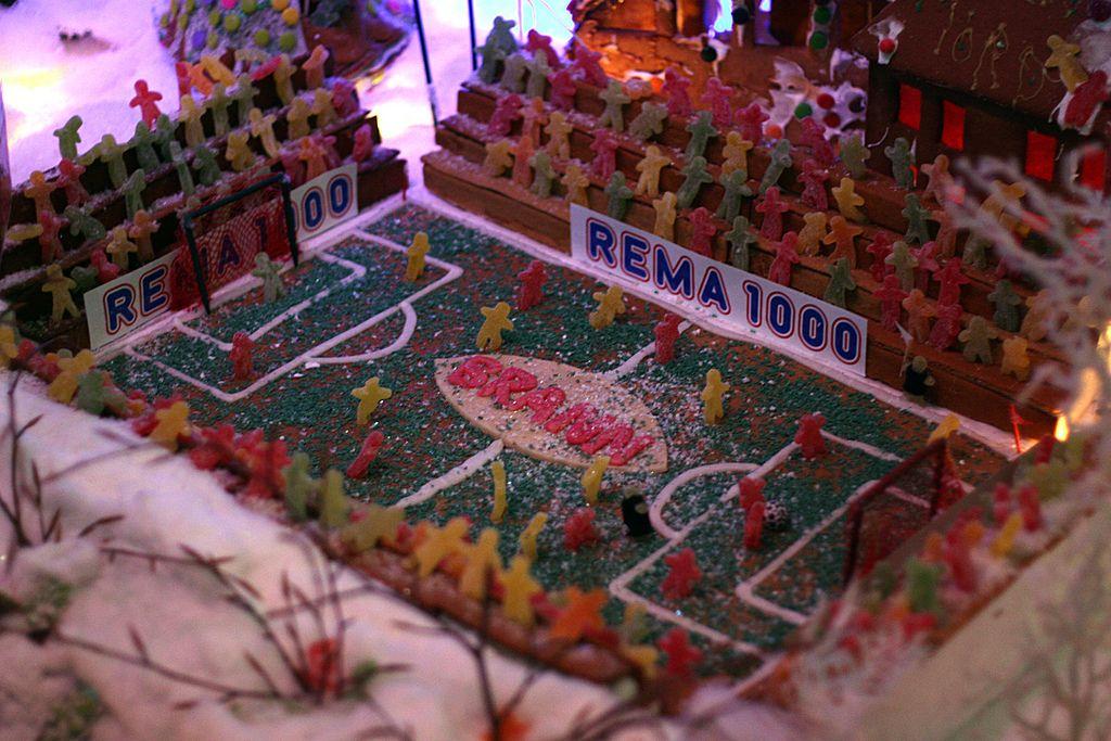 gingerbread house soccer football