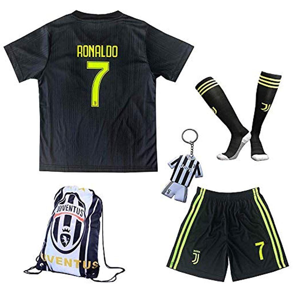 2018 2019 Juventus 7 Cristiano Ronaldo Third Kinder Fussball