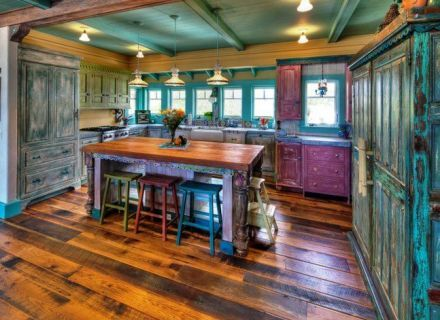 440x320-turquoise-rustic-kitchen-1000-ideas-about ...