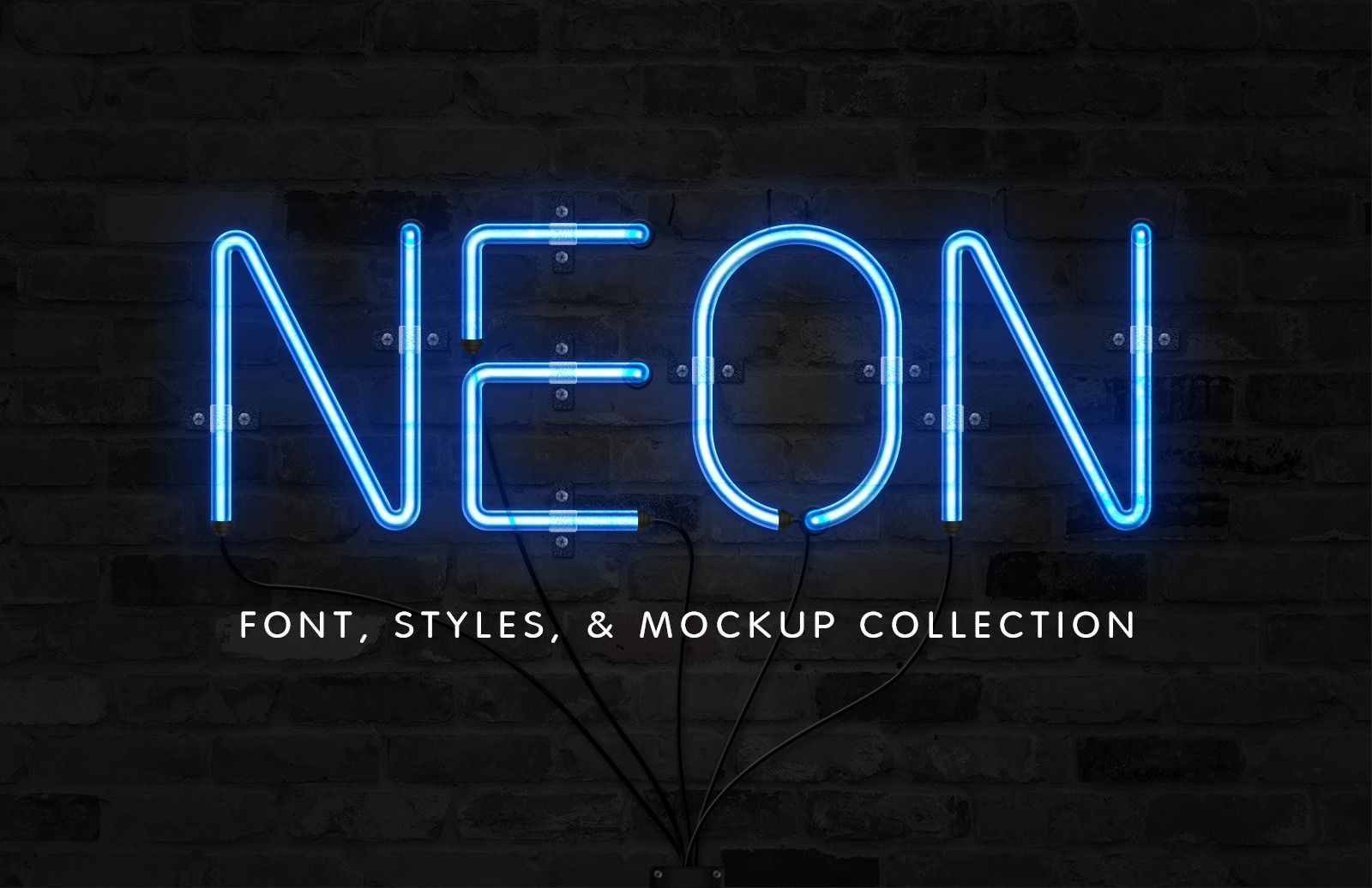 Neon Tubes Neon Sign Font professional musician Sign
