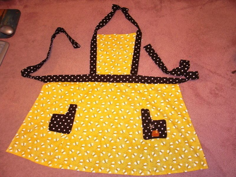 Busy Bee Kitchen Apron Bumblebee