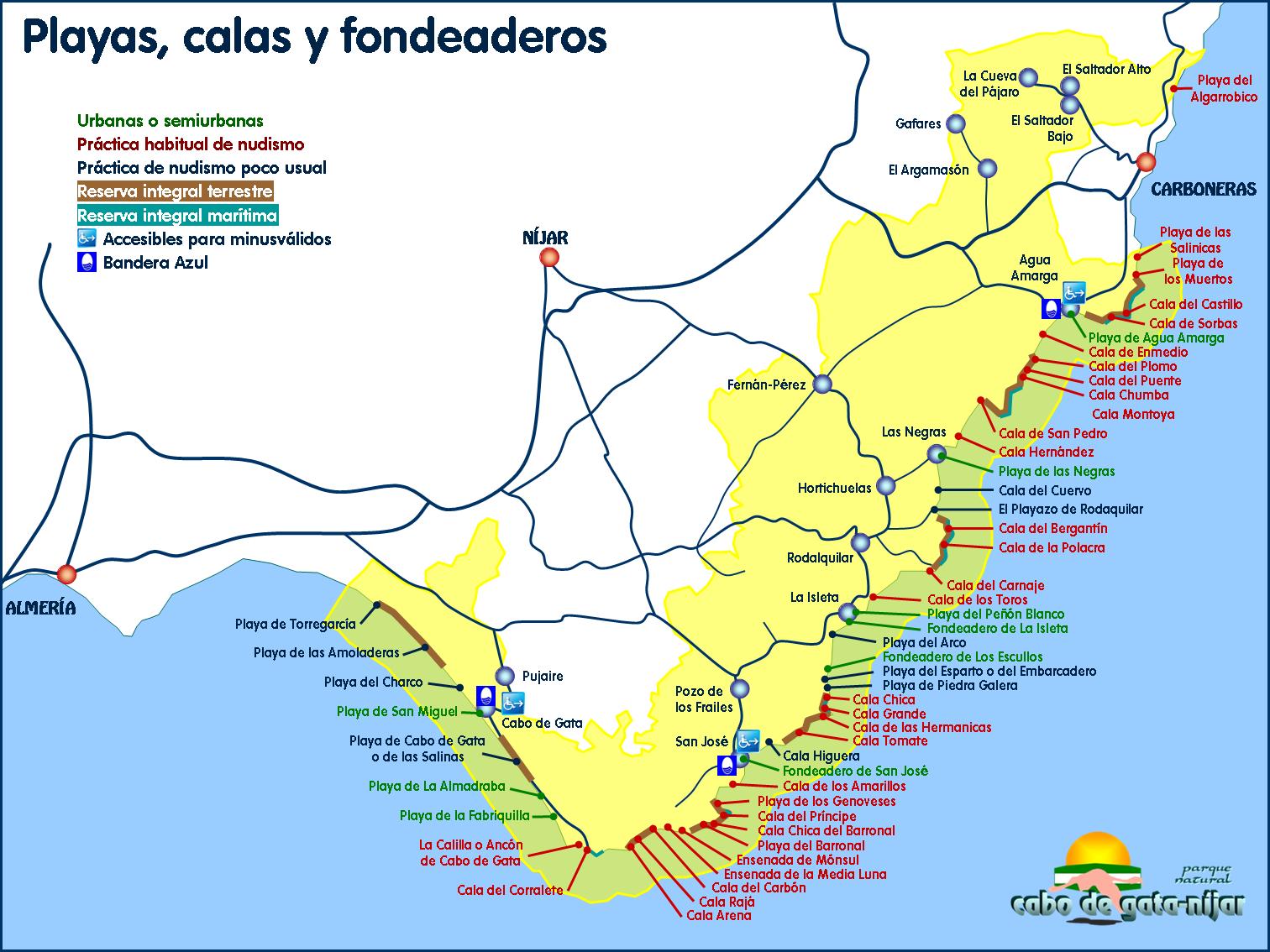 Cabo De Gata Guía De Viaje Cabo De Gata Cabo De Gata Almeria Guia De Viaje