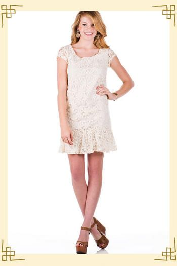 Garden City Embroidered Dress