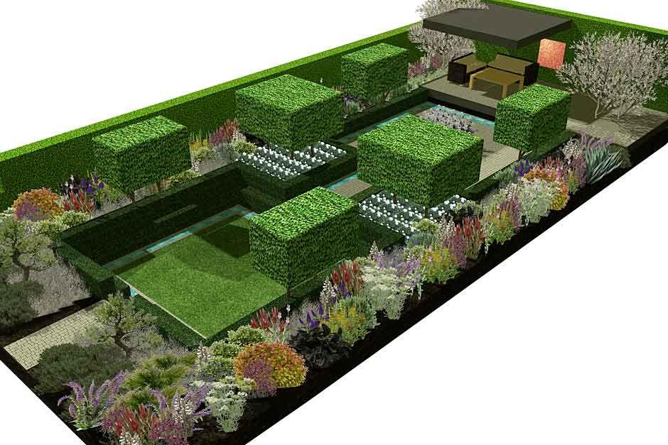 Gardena And Husqvarna Present Support A Garden In Melbourne Atrhs