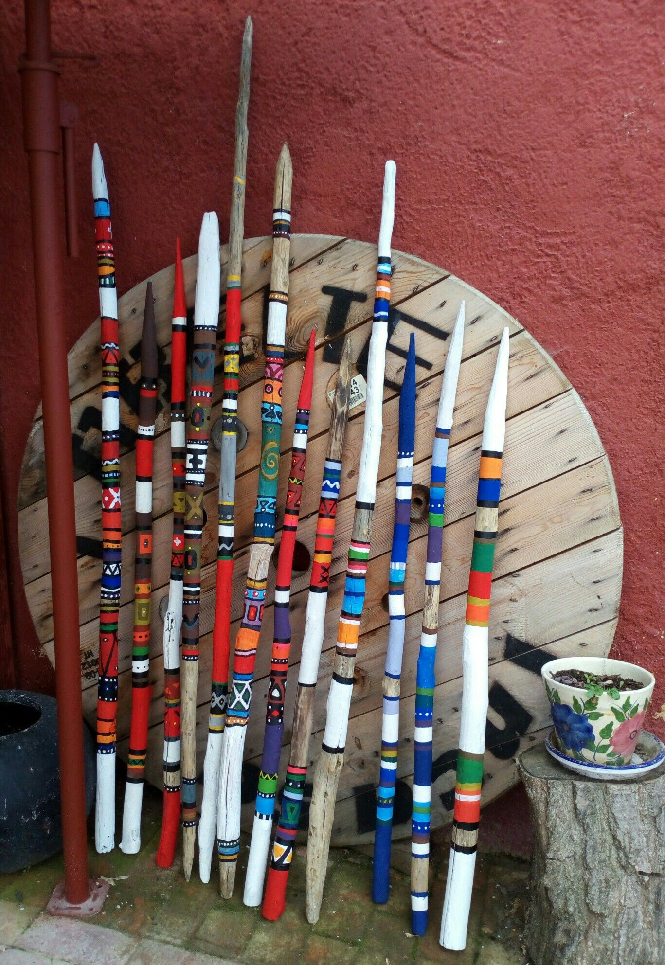 Art With Paint Sticks