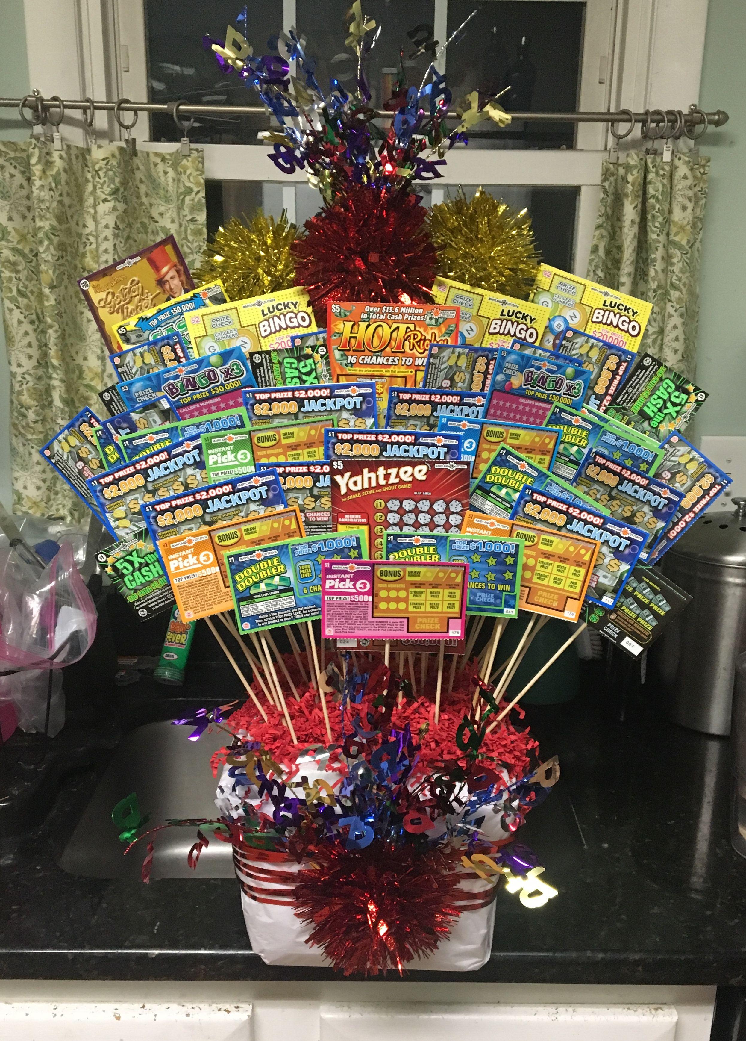 Scratch Off 75th Birthday Gift Idea