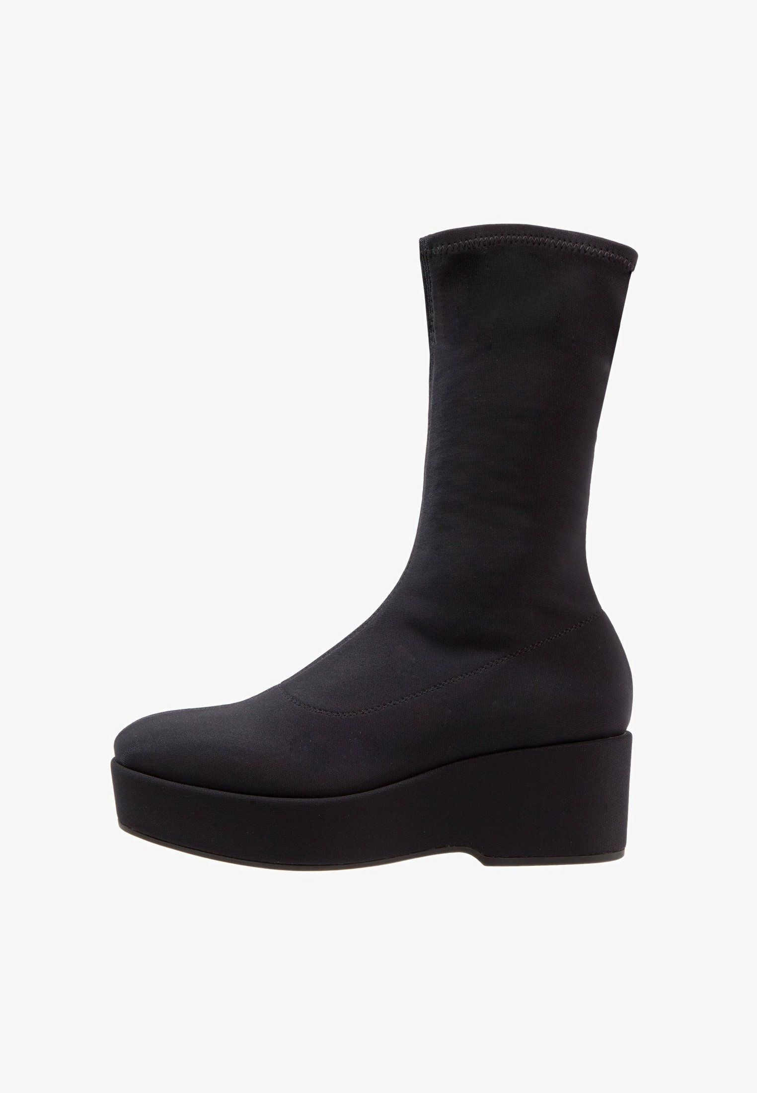 Vagabond Pia Botki Na Platformie Black Zalando Pl 450 Zl Boots Shoes Wedge Boot