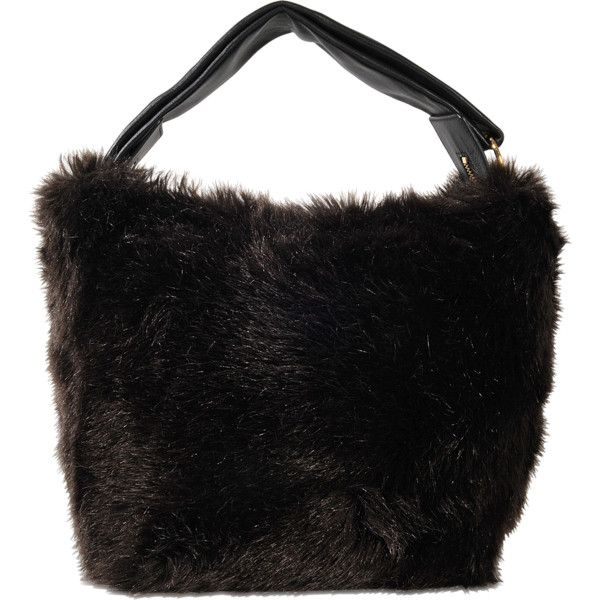 Tissue faux-fur handbag Victoria Beckham QWbfepITqO