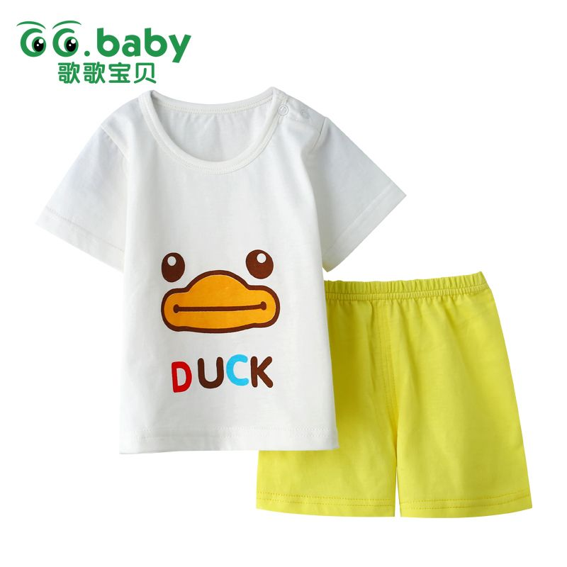 Baby Girls Boys Shorts and Top Set Summer Baby Clothing Batik Outfits Toddler T-Shirt Short Sleep Shorts Tracksuit Pyjamas Set