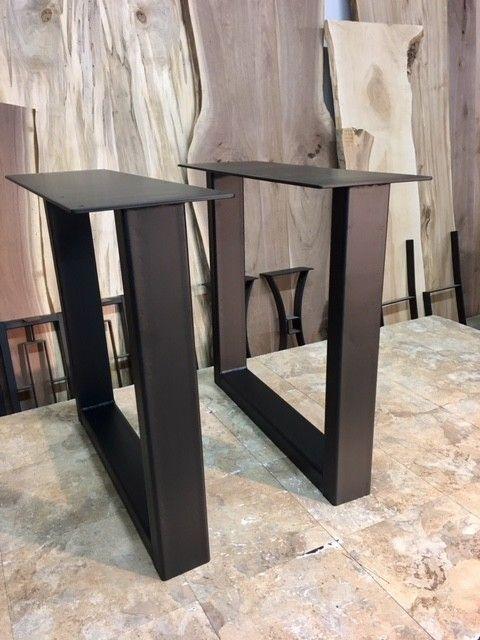 3x3 Hr Steel Custom Metal Table Base Salvabrani Salvabrani