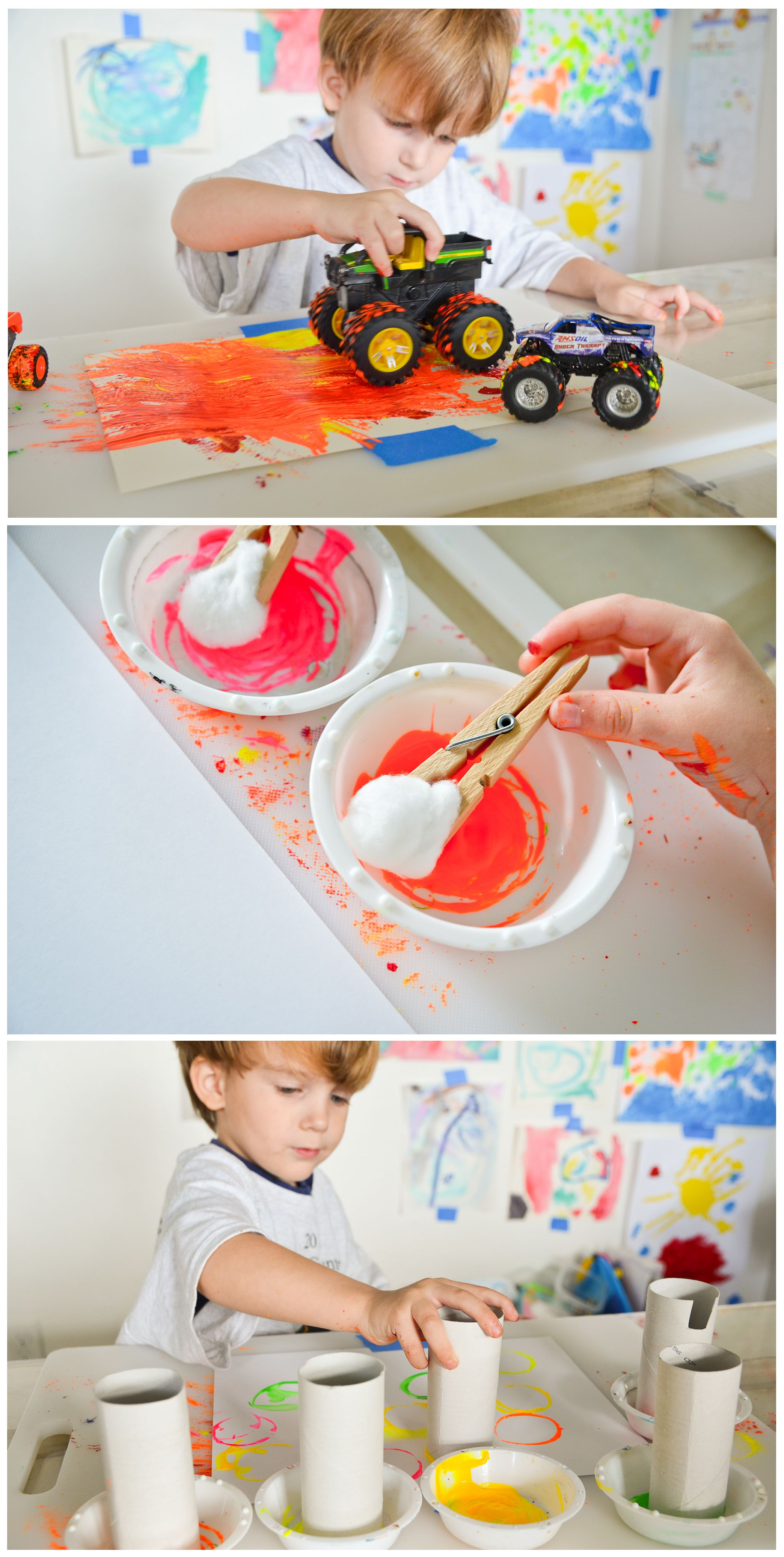 Tips For Painting With Toddlers Project Nursery Toddler Painting Toddler Projects Free Baby Stuff
