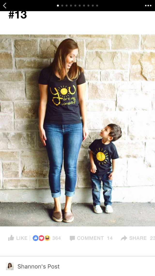 cc6af34e You are my sunshine tee shirt mother and child - I want this ...