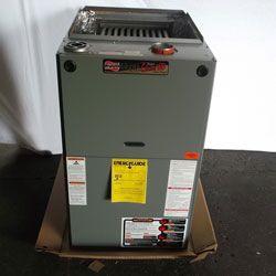125000 Btu 80 Pct Eff Ruud Ugpr 12narmr 2 Stage Ecm Motor Gas Furnace Gas Furnace Hvac Heat Exchanger