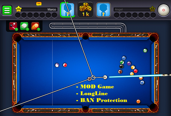 8 ball pool long line hack android download