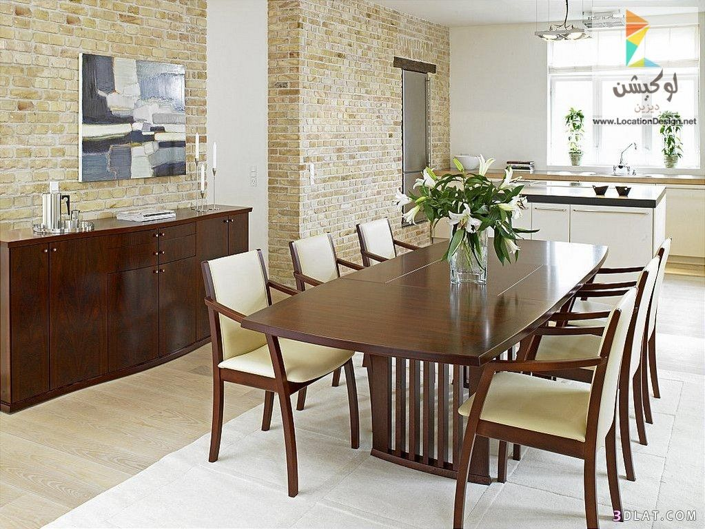 بالصور احدث افكار ديكورات غرف سفرة مودرن 2017 2018 لوكشين ديزين نت Modern Dining Room Dining Room Design Dining Room Spaces