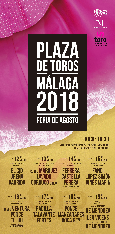 Plaza De Toros De Malaga La Malagueta Feria Taurina 2018 Toros