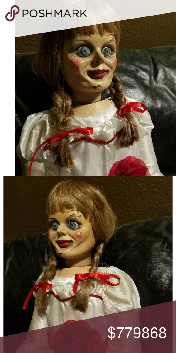 NOT FOR SALE!!!!! ISO! ISO ANNABELLE DOLL!! Annabelle doll!! ISO