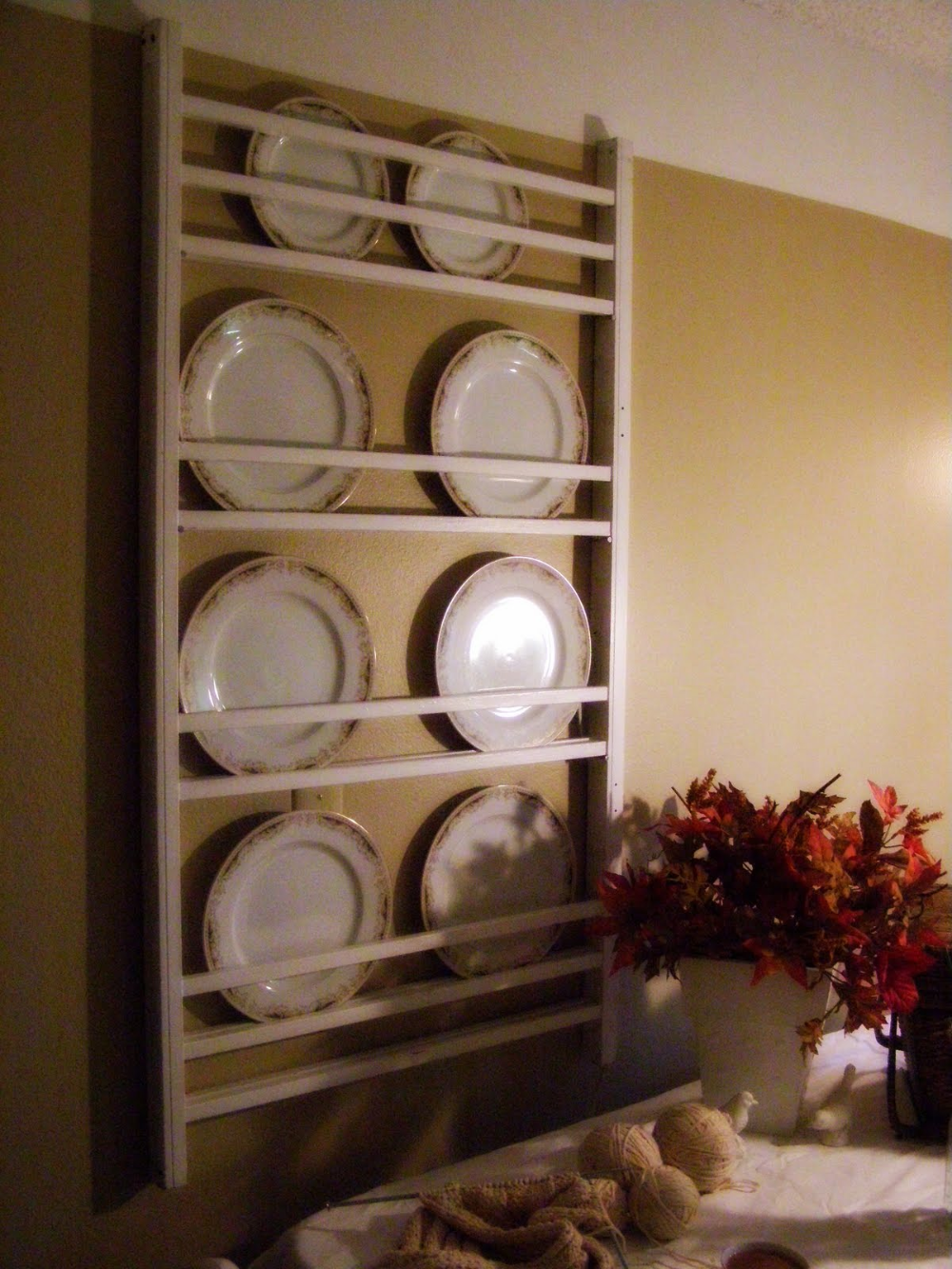 From Crib to Plate Rack; Up-cycle project #plateracks From Crib to Plate Rack; Up-cycle project #plateracks
