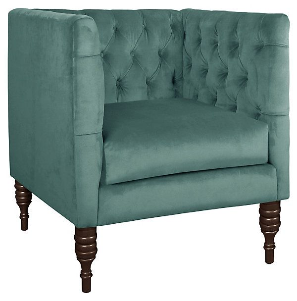 One Kings Lane Stylish Upholstery Churchill Club Chair