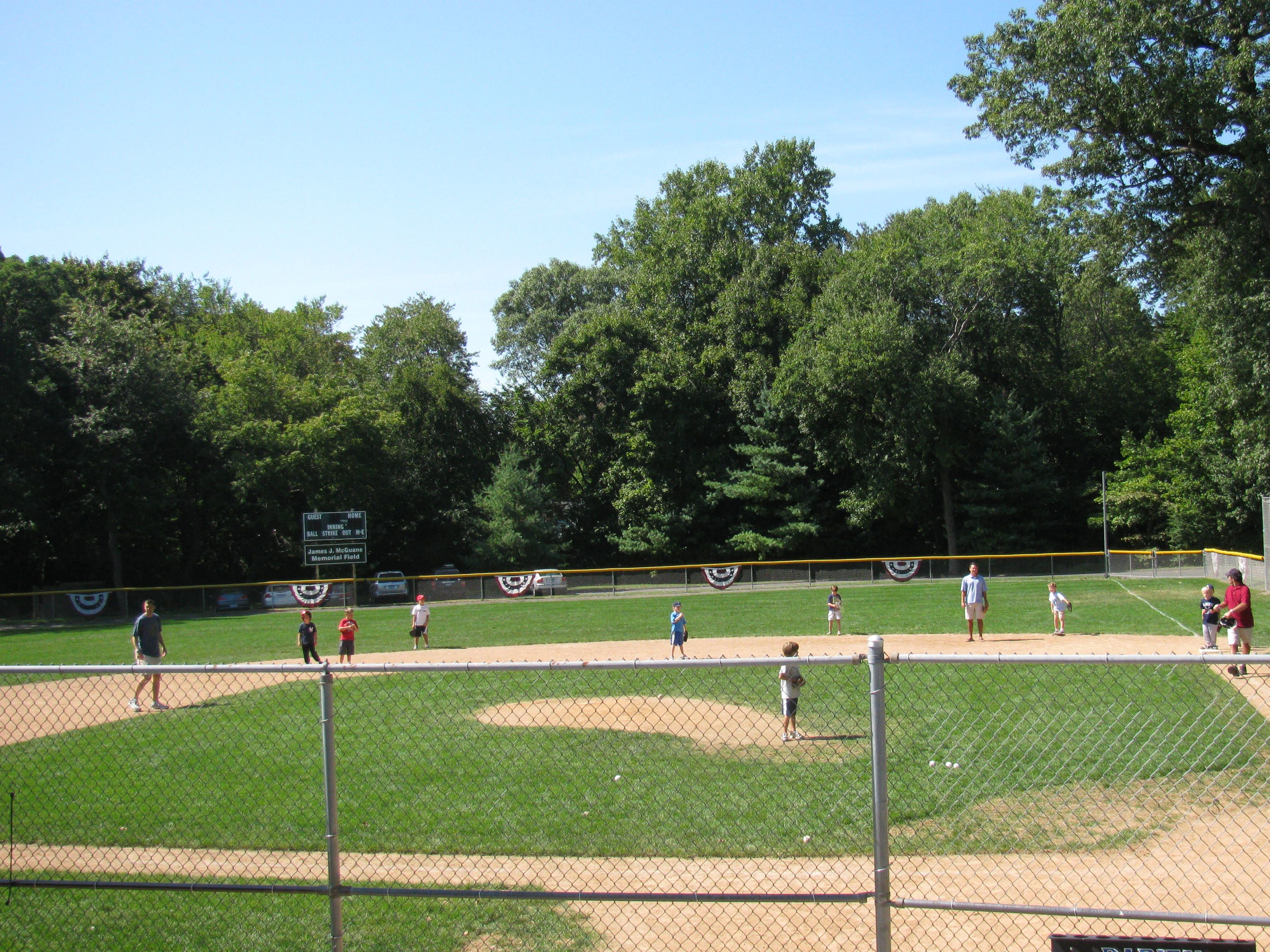 Mcguane Baseball Field Darien Ct Where Little League Happens Photography Via Janine Vairo Realtor Houlihan Lawrence Darien York City New York City