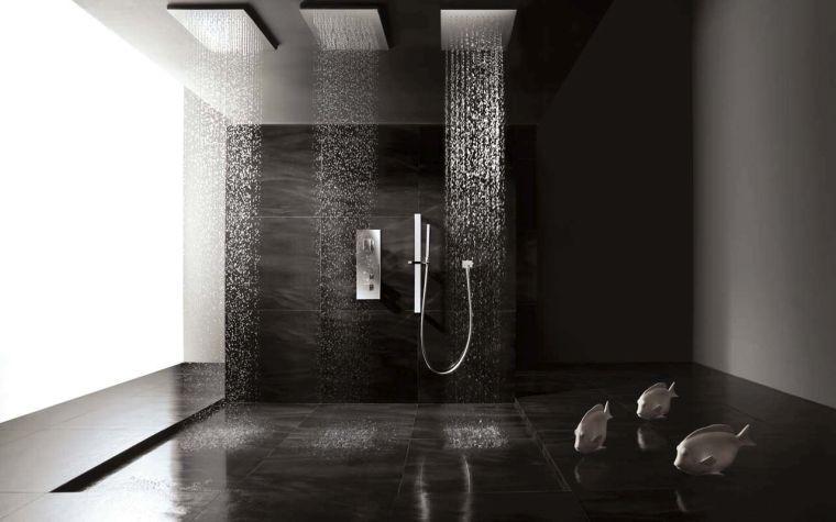 Salle de bain ardoise  naturelle et chic Pinterest
