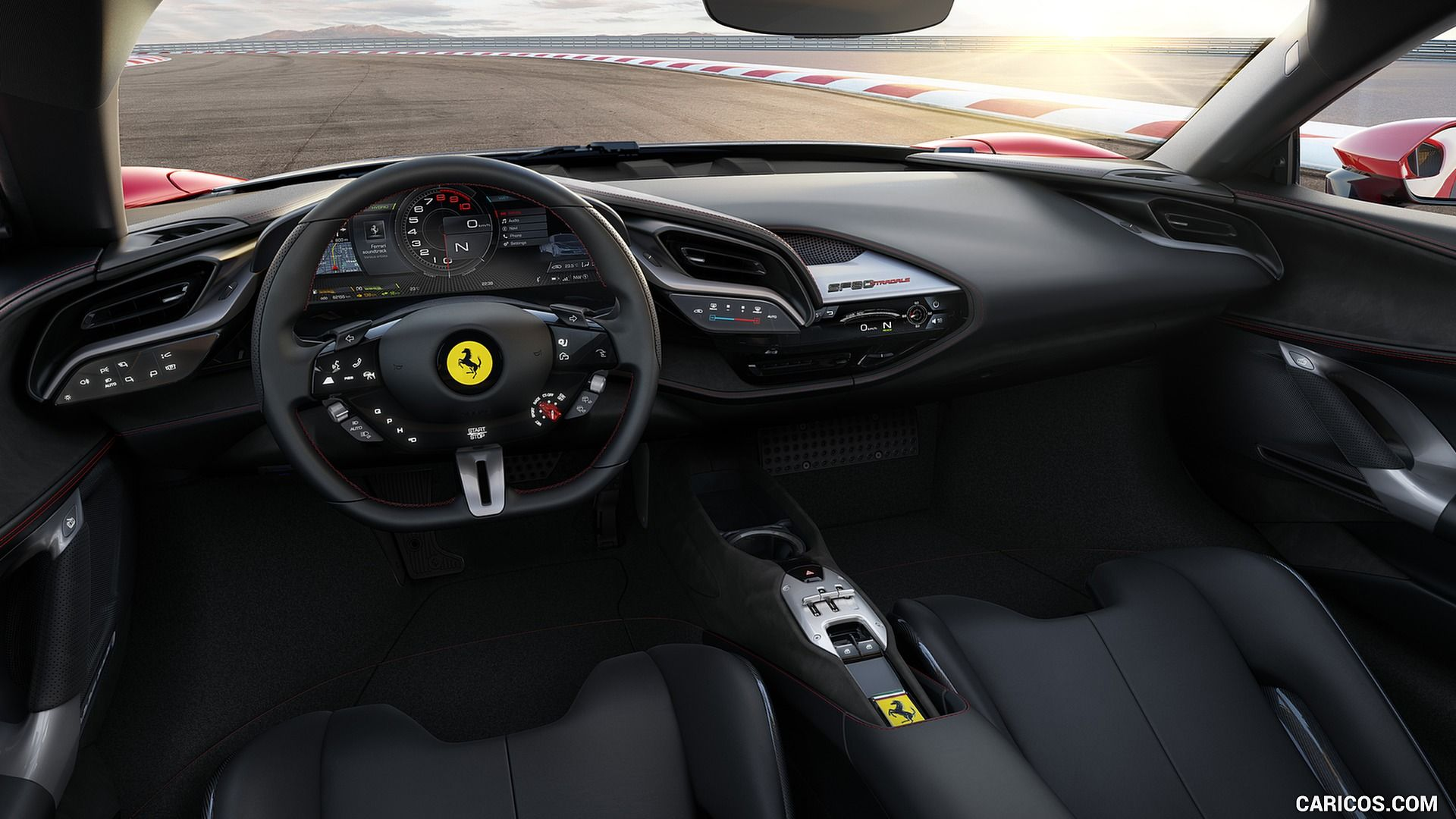 2020 Ferrari Sf90 Stradale Interior Cockpit Hd With Images