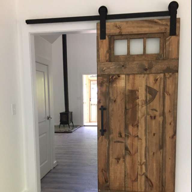 Vintage Custom Sliding Barn Door With Windows Price Is For One Door Barn Doors Sliding Interior Barn Doors Barn Door