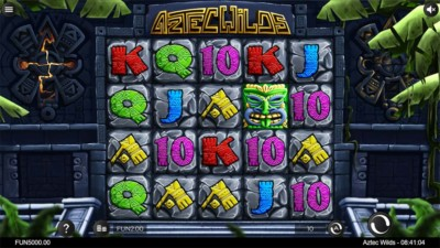 Review And Where To Play The Aztec Wilds Slot From Iron Dog Studio Slot Play Slots Online Games