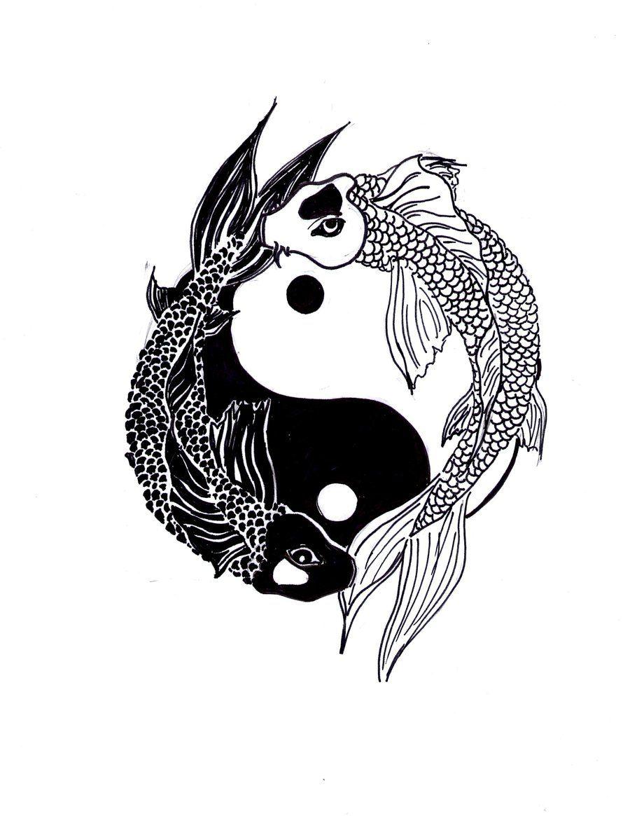 Yin Yang Fische