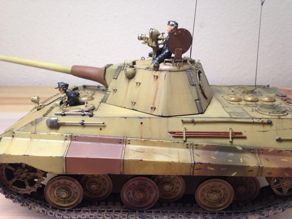 A 43 Wot pin on german panzers