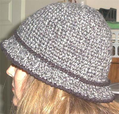 Ladies Cloche Hat by Marlo Cairn Marlo's Crochet Corner